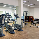Fully equiped gymnasium
